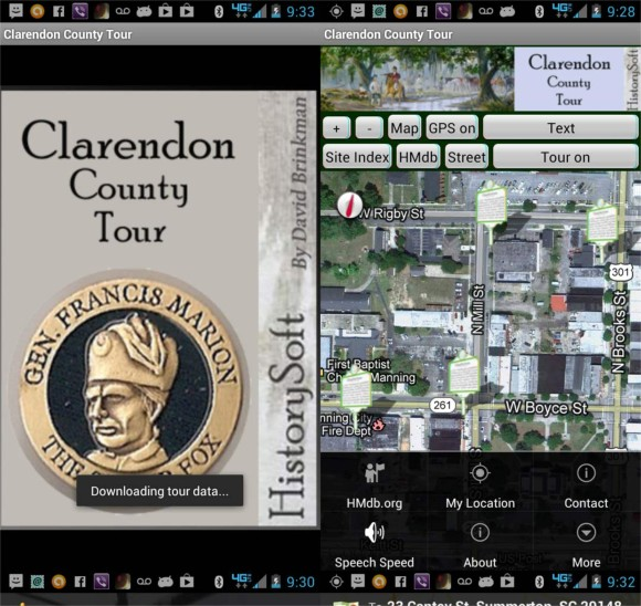 Clarendon Tour App, try our tour
